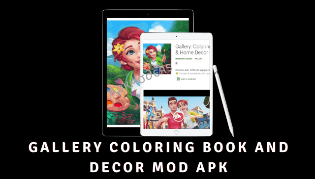 Gallery Coloring Book And Decor MOD APK Featured Image