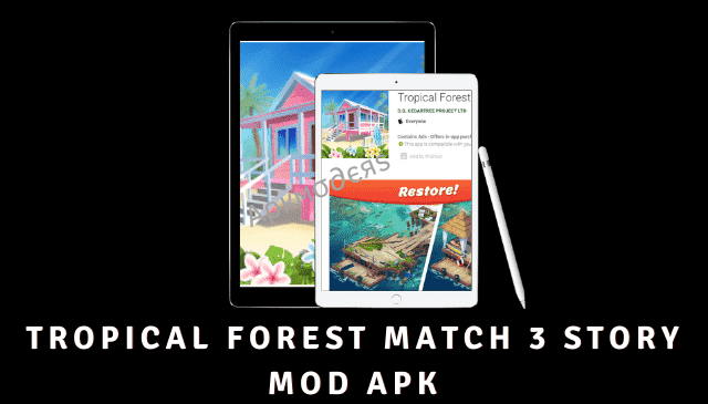 Tropical Forest Match 3 Story Featured Image